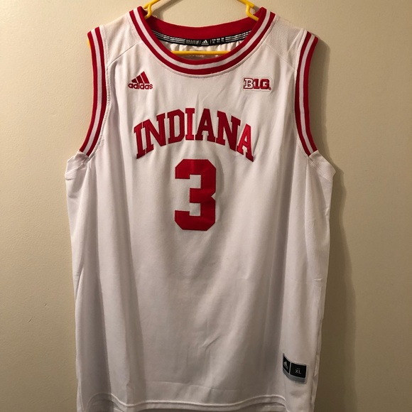 info for 56b19 9f1ba Indiana Basketball Jersey #3